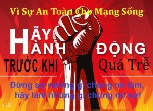 hanhdong cho mang song