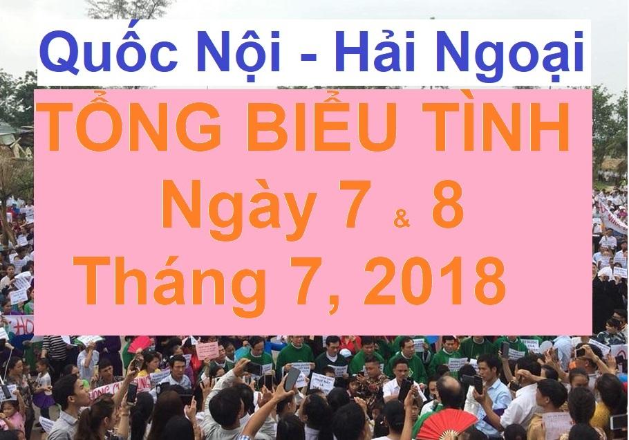 Image result for Lời keu gọi Biểu Tinh ngày 7/7